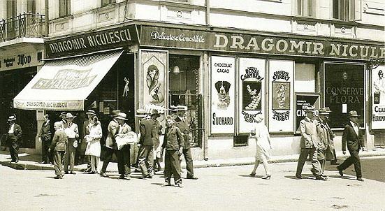 """Banner  """"Sampanie St. Marceaux & CO"""""""